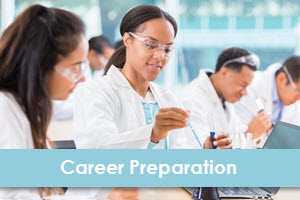 LearningExpress Library Career Preparation logo