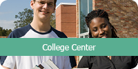 LearningExpress Library College Center logo