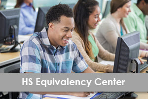 LearningExpress Library High School Equivalency Center logo
