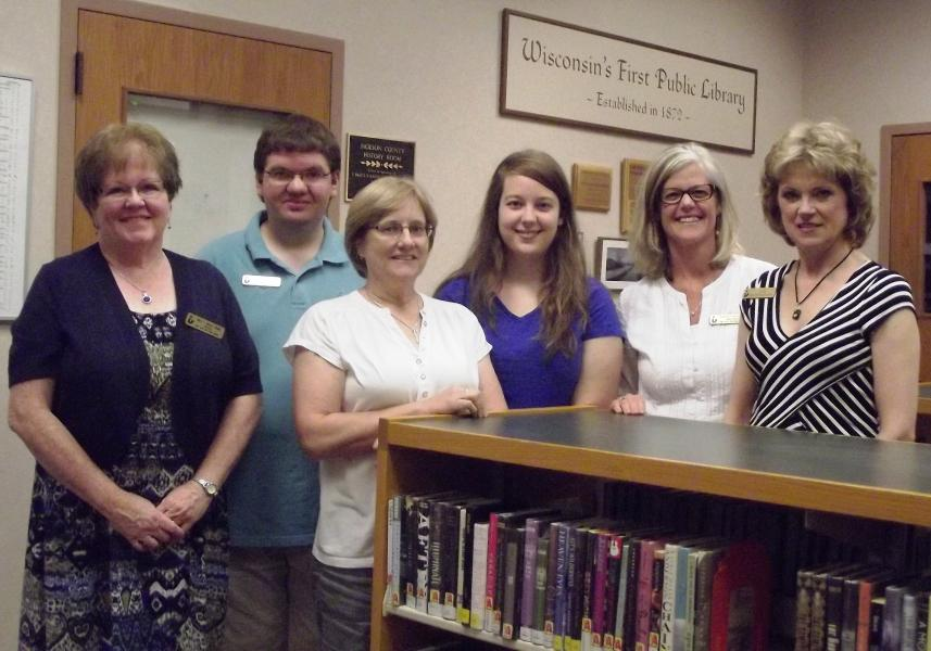 Staff at Black River Falls Public Library