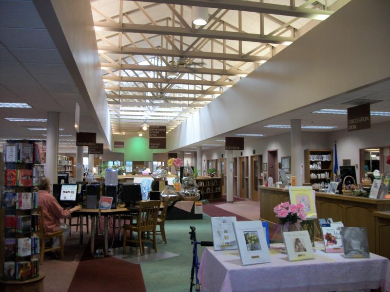 Waupaca Public Library entry