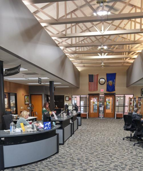 Waupaca Area Public Library entry