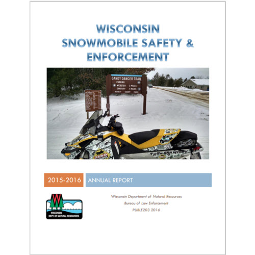 Cover of Wisconsin Snowmobile Safety & Enforcement