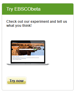 picture of EBSCObeta on Science Reference Center home page