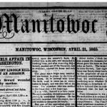 Image of Manitowoc Pilot newspaper