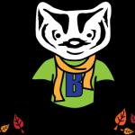Happy Fall Badger