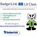 Lit Class Schedule