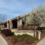 Portage Public Library Entrance