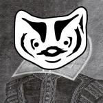 BadgerLink badger in Shakespeare clothign