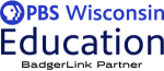 PBS Wisconsin logo - a BadgerLink Partner