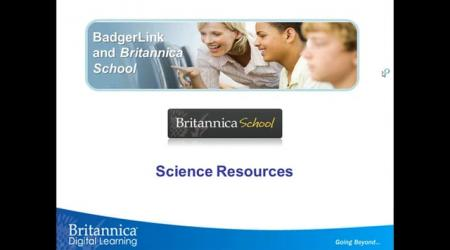 Britannica School Science Resources