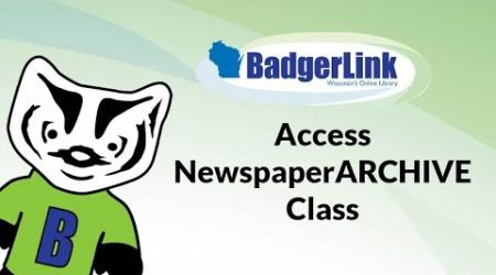 Access NewspaperARCHIVE Class