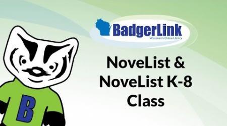 NoveList and NoveList K-8 Class