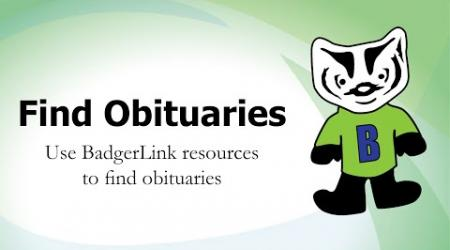 Find Obituaries