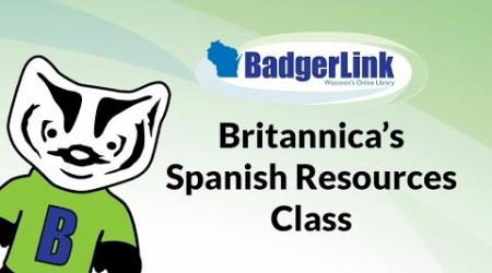 Britannica's Spanish Resources Class