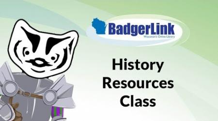 History Resources Class